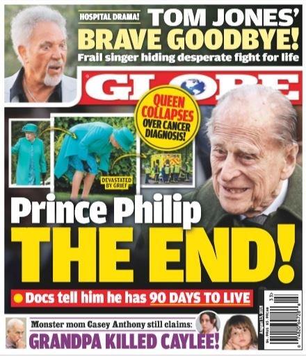 Queen Elizabeth Collapsed