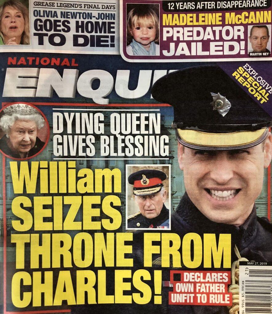 Queen Elizabeth Prince William Prince Charles