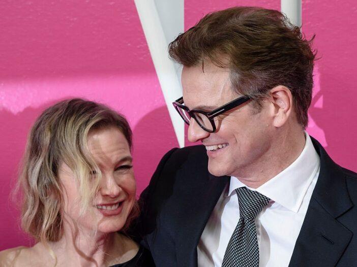 Renee Zellweger and Colin Firth attend the 'Bridget Jones Baby' German Premiere in Berlin