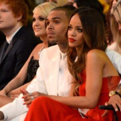 Rihanna Chris Brown Name Checking Birthday