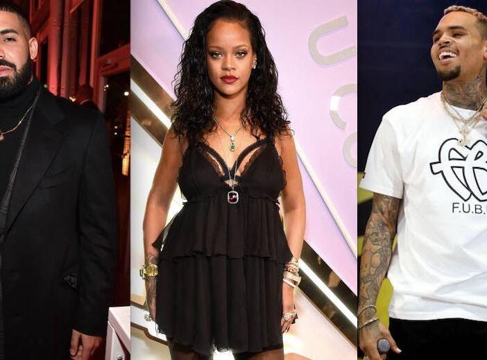 Rihanna Pregnant Flashback