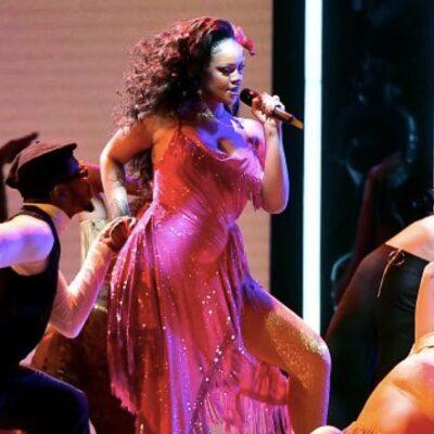 Rihanna Pregnant Grammys