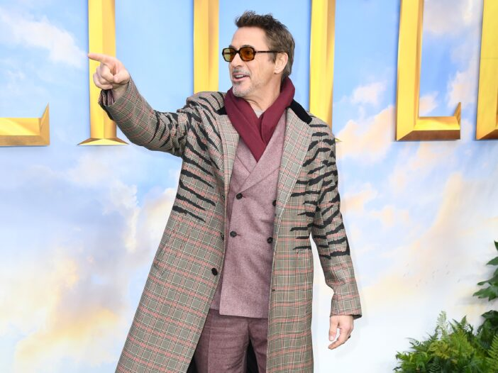 """Robert Downey Jr attends the """"Dolittle"""" special screening at Cineworld Leicester Square"""