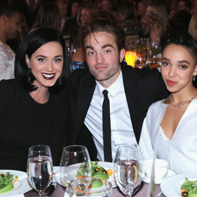 Robert Pattinson Katy Perry Flirting