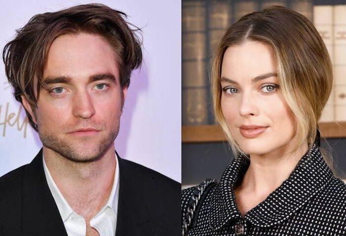 Robert Pattinson Margot Robbie Flirting Batman