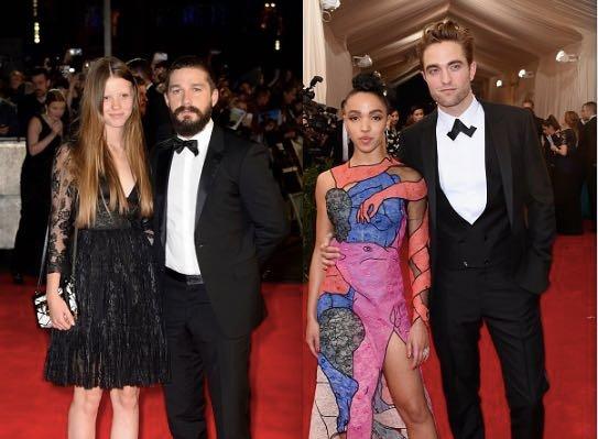 Robert Pattinson Shia LaBeouf FKA Twigs Mia Goth