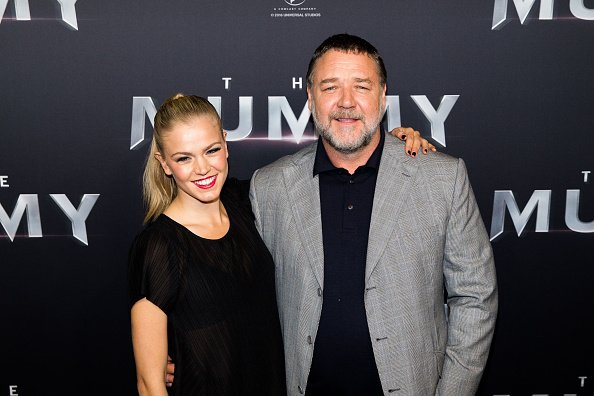Russell Crowe Dating Sophia Forrest