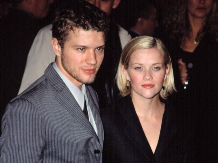 Ryan Phillippe and Reese Witherspoon together back when they were married.