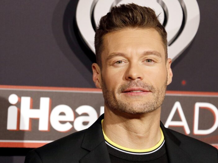 Ryan Seacrest at the iHeartRadio Music Awards.