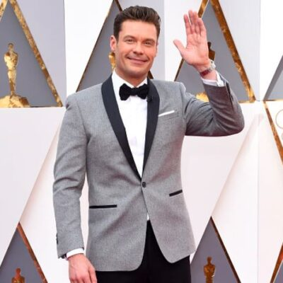 Ryan Seacrest Oscars Red Carpet