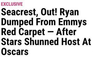 Ryan Seacrest Red Carpet
