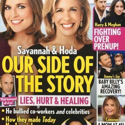 Savannah Guthrie Hoda Kotb Matt Lauer Cover Story
