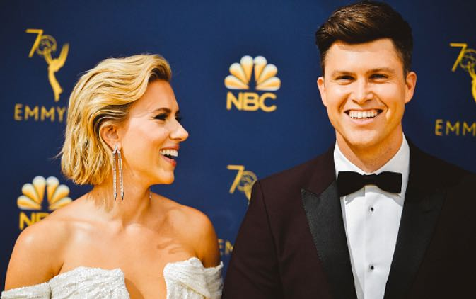 Scarlett Johansson Colin Jost married