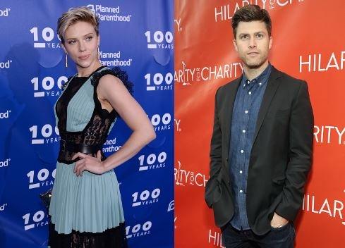 Scarlett Johansson Marry Colin Jost