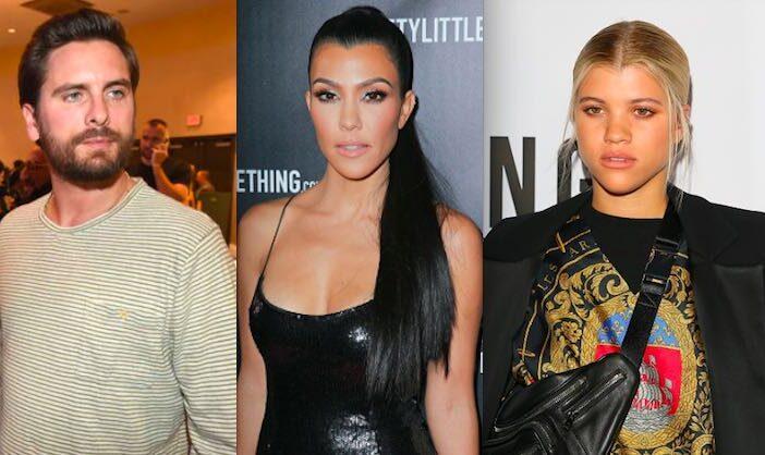 Scott Disick Kourtney Kardashian Sofia Richie
