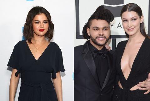 Selena Gomez Bella Hadid Dump The Weeknd