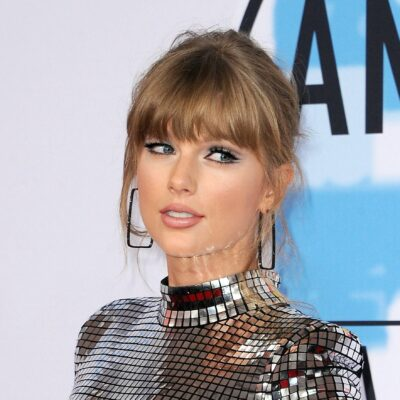 Taylor Swift at the American Music Awards in 2018