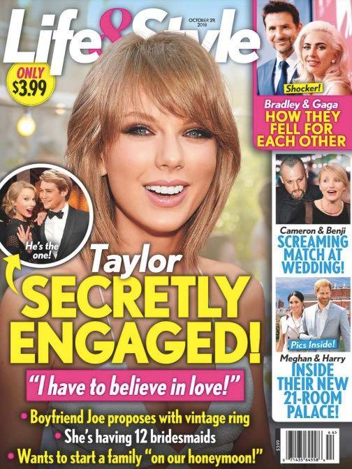 Taylor Swift Engaged