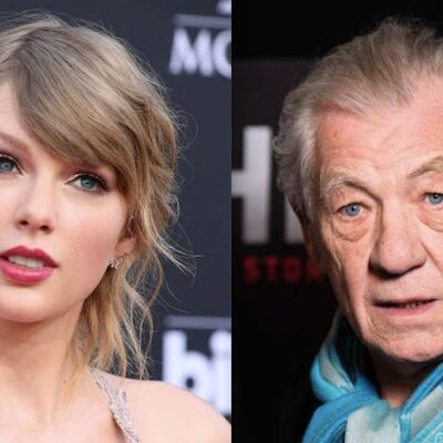 Taylor Swift Ian McKellen Cats