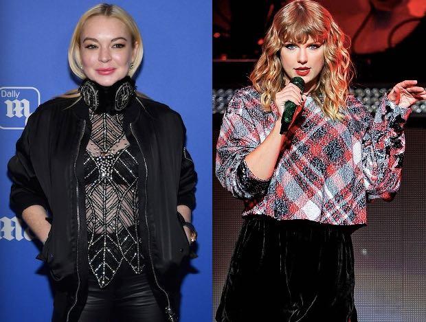 Taylor Swift Lindsay Lohan