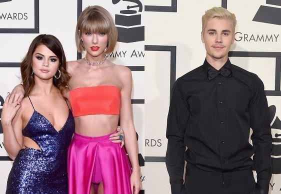 Taylor Swift Selena Gomez Justin Bieber Friendship