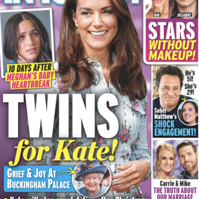 The cover of In Touch dated December 14th, 2020, with the claim that Kate Middleton is pregnant