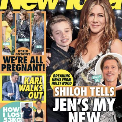 The cover of New Idea Magazine