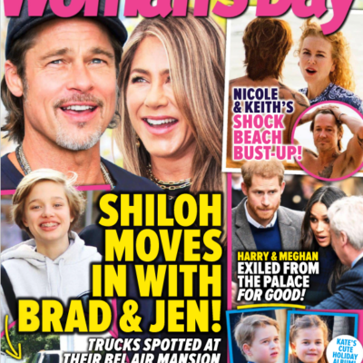 The cover of Woman's Day
