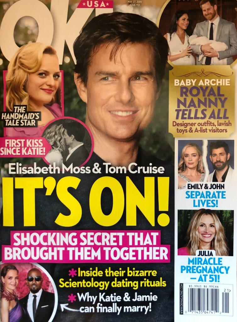 Tom Cruise Elisabeth Moss Dating