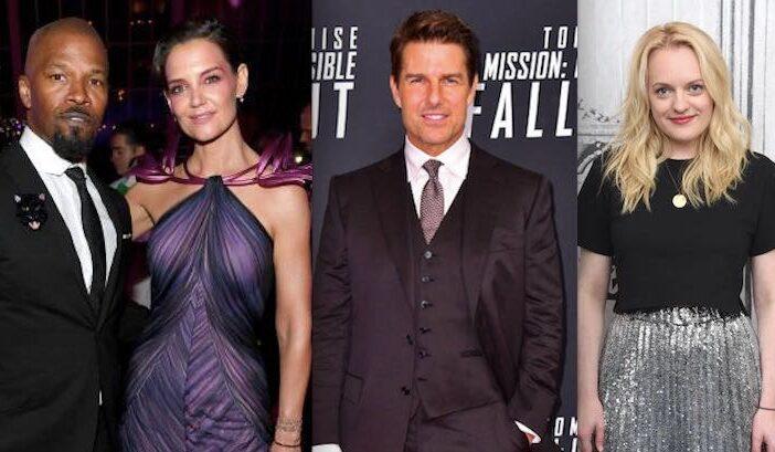 Tom Cruise Katie Holmes Jamie Foxx Elisabeth Moss