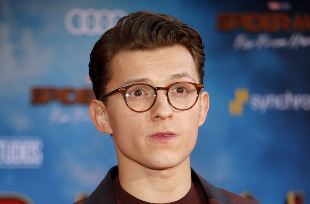 Tom Holland at premiere of Spideman: Far From Home