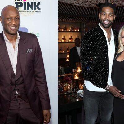 Tristan Thompson Annoyed Lamar Odom Khloe Kardashian