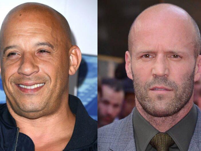 Vin Diesel Jason Statham Feuding