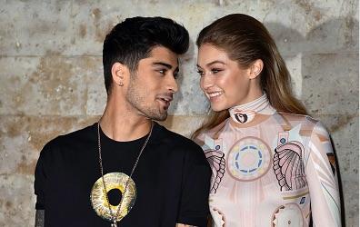 Zayn Malik on rocks Gigi Hadid