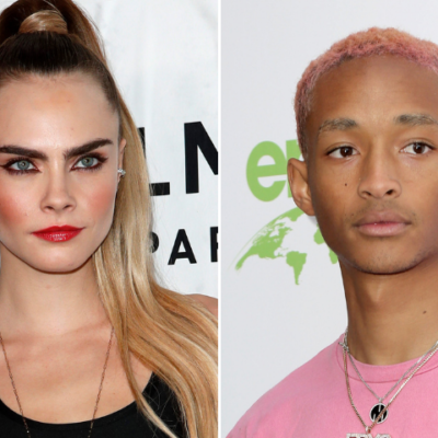 Side by side image of Cara Delevingne and Jaden Smith