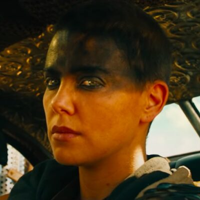 screenshot of Charlize Theron in Mad Max Fury Road