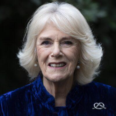 Close up of Camilla Parker Bowles