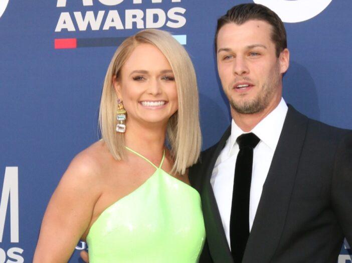 Miranda Lambert and husband Brendan McLoughlin at the Country Music Awards