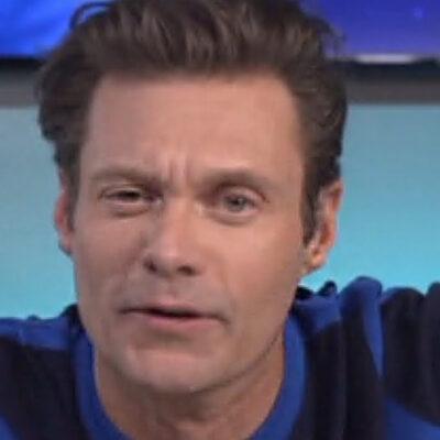 Screenshot of Ryan Seacrest looking a little wonky on American Idol