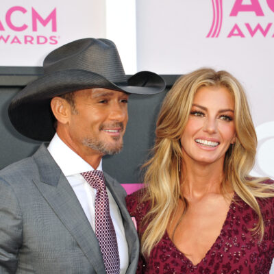 Tim McGraw and Faith Hill at the 2017 ACM Awards