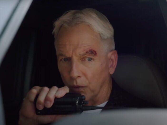 screenshot of Mark Harmon on NCIS