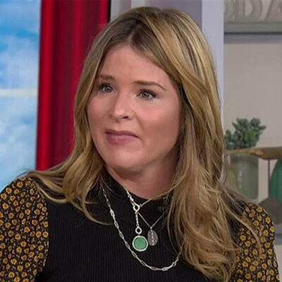 Screenshot of Jenna Bush Hager on the Today Show