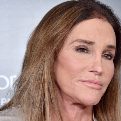 Close up of Caitlyn Jenner looking skeptical.