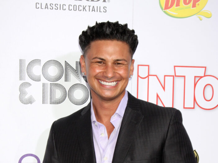 Pauly D at a Hollywood event.
