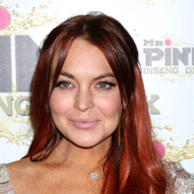 Lindsay Lohan at a event in LA in 2012.