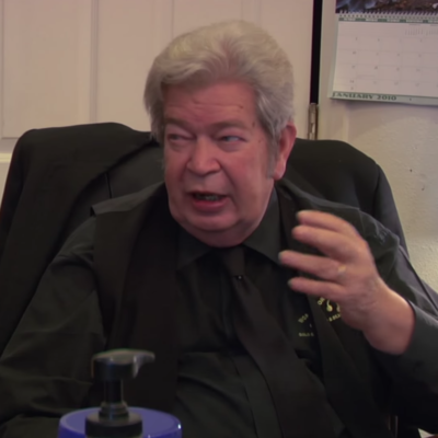 """Richard """"Old Man"""" Harrison on an episode of Pawn Stars"""