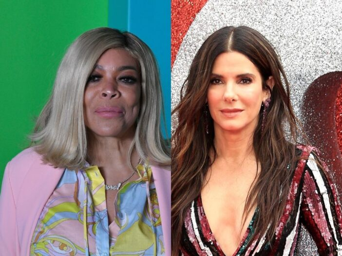 side by side photos of Wendy Williams and Sandra Bullock