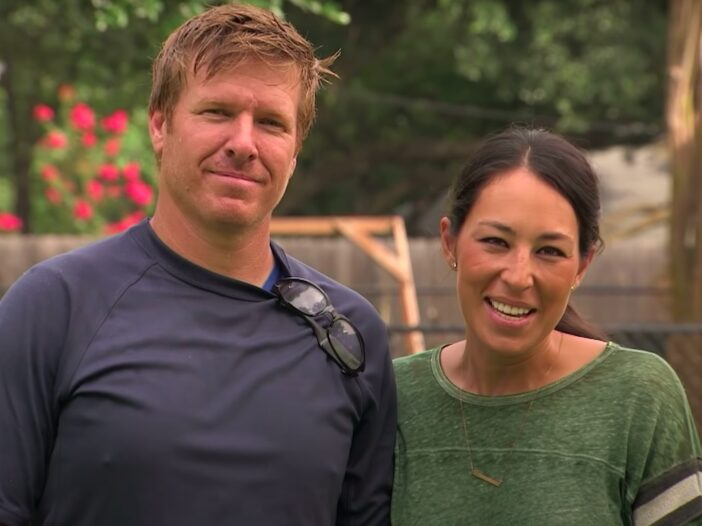 screenshot of Chip and Joanna Gaines on Fixer Upper