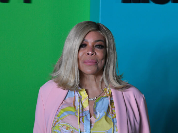 Wendy Williams wearing colorful clothing.
