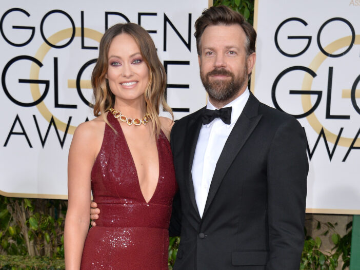 Jason Sudeikis and Olivia Wilde on the red carpet